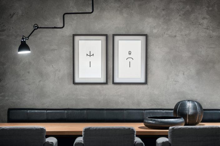 Heiko Rossmeissl –Typo Artist –Ausstellung Wohnhaus