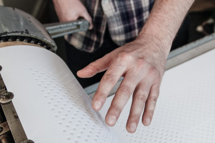 Heiko Rossmeissl –Typo Artist –Druck Detail
