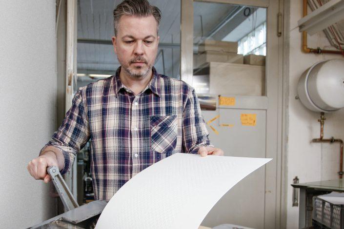 Heiko Rossmeissl –Typo Artist –Druckwerkstatt